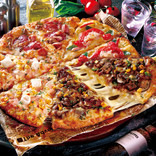 ピザーラでがっつり肉ピザ! 新作「炭火焼きビーフ」超お得クォーターも