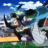 『僕のヒーローアカデミア』第4期 第21話先行場面カット公開! ジェントルとデクが激突!