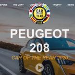 新型「プジョー208/e-208」がヨーロッパ・カー オブ ザ イヤー2020を獲得【動画】