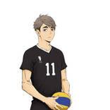 『ハイキュー!! TO THE TOP』稲荷崎高校の3名の新キャスト& キャラクタービジュアルを解禁!