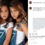 世界で最も美しい9歳双子、人気加速でインスタフォロワー170万人超に(米)