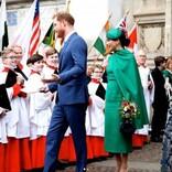"""ヘンリー王子夫妻""""高位王族""""として最後の公務 メーガン妃がウィリアム王子・キャサリン妃に無視される場面も"""