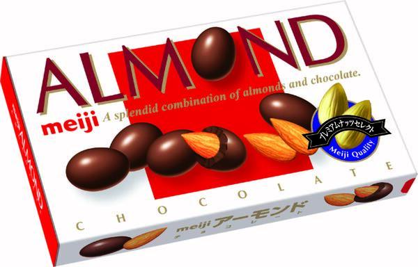 アーモンドチョコレート  参考小売価格:220円(税別)