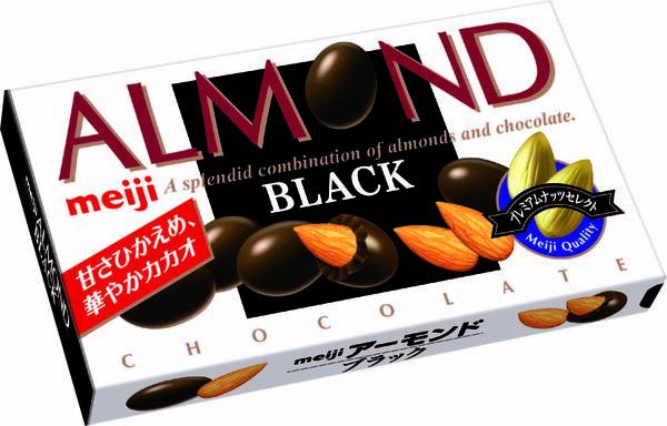 アーモンドブラックチョコレート 参考小売価格:220円(税別)
