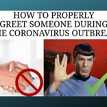 握手NGでコロナウイルス対策。『スタートレック』のあいさつを見習おう