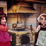 ダレノガレ明美、脱力系プリンセスに!  妖女役りんごちゃんと人形劇で熱演