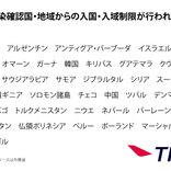 日本からの渡航者や日本人に対する入国・入境制限、入国・入域後の行動を制限している国一覧(3月14日午後3時時点)