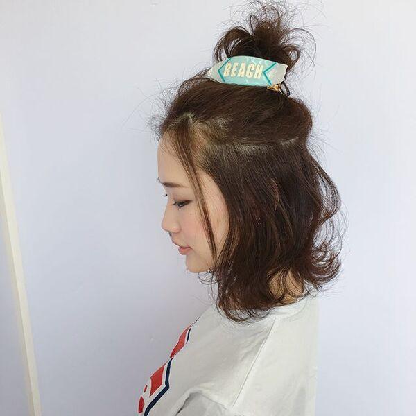 アクティブ可愛い♡夏デートヘアアレンジ