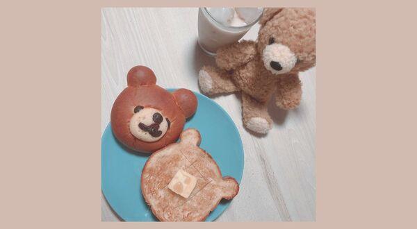 食べるのがもったいない!?『くまパン』 YOKOHAMA BAKERY Chaleur