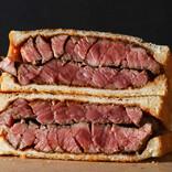 """肉好き必見「超厚切り""""肉サンド""""」が超ウマそう! 今なら全メニュー割引"""