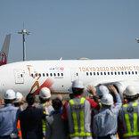 五輪聖火輸送機「TOKYO 2020号」、アテネへ向けて出発 ANAとJALが共同輸送、20日に松島基地到着