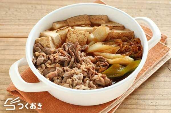 作り置きに人気のレシピ!日持ちする肉豆腐