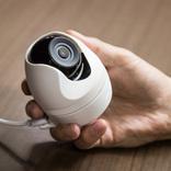 ポンと平置きで使える防犯カメラ。セキュリティ以外にも使えそう
