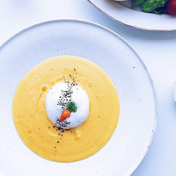 にんじんのポタージュスープ