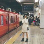 市川紗椰の鉄道本 重版決定記念、モノクロ掲載カットをカラーで初公開