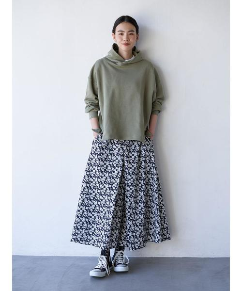 [AMERICAN HOLIC] ラップ風フレアスカート
