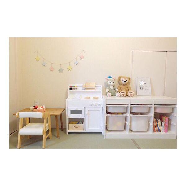 子供部屋の収納アイデア15