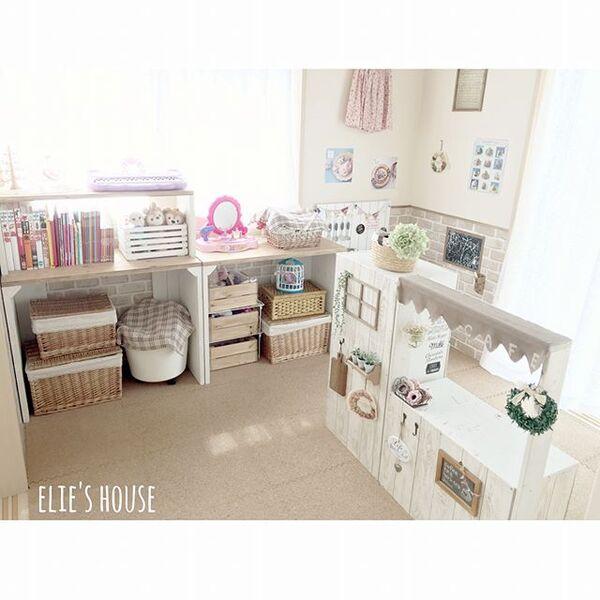 子供部屋の収納アイデア20