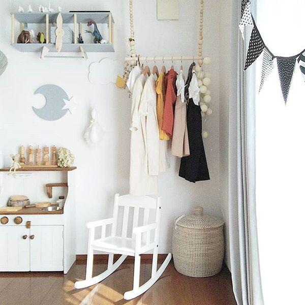 子供部屋の収納アイデア4