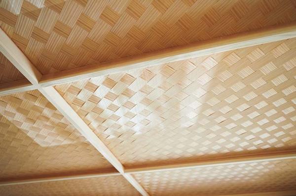 網代張りの天井