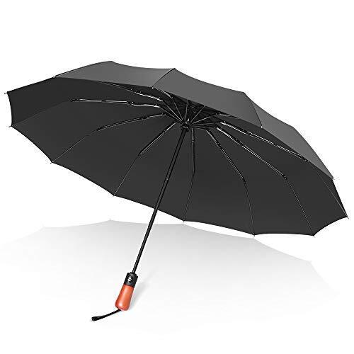Zexmte 折りたたみ傘 メンズ 軽量 大きい 自動開閉 頑丈な12本骨 耐強風 超撥水 台風対応 梅雨対策 紳士傘