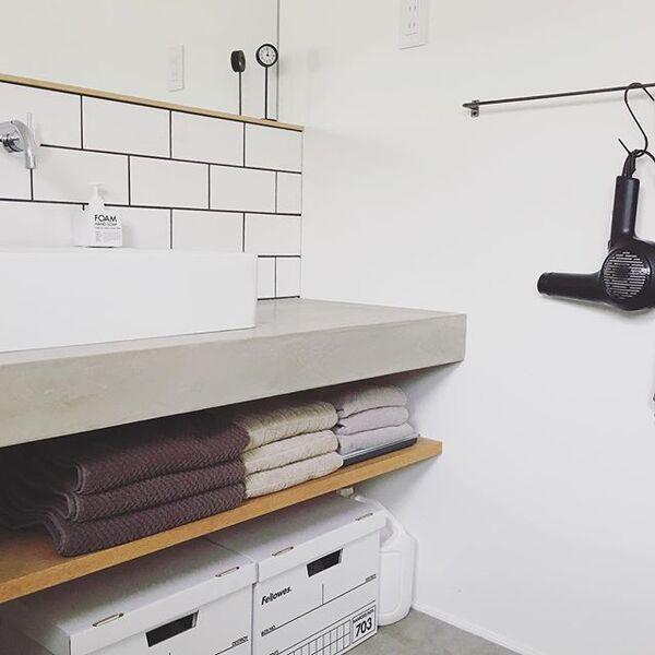 洗面台下のデッドスペースを活用した収納アイデア