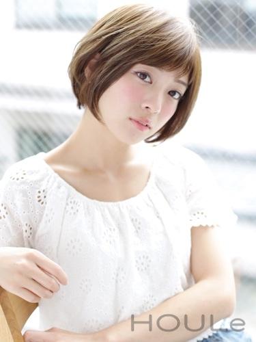 【ショート】短くても色っぽい髪型