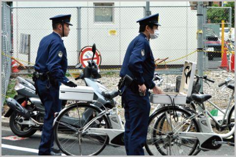 職務質問で自転車の「防犯登録」を確認する理由