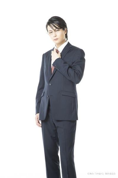 ポール・アンダーソン:八神蓮 (C)中村明日美子/太田出版 (C)舞台「Jの総て」製作委員会