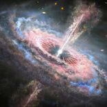 宇宙ではクェーサーによる強大なエネルギーの波が起きている