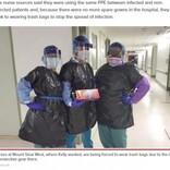 「病院に防護服がない」ゴミ袋を纏うNY看護師、同僚が新型コロナ感染で死亡(米)