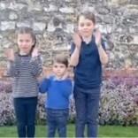 ウィリアム王子夫妻の子供達3人も医療従事者らに拍手 末っ子ルイ王子の可愛さに再生回数650万回超え<動画あり>