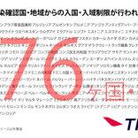 日本からの渡航者や日本人に対する入国・入境制限、入国・入域後の行動を制限している国一覧(3月28日午前11時時点)