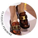 【小物トレンド】注目のレザー&スエードで正統派レディにまとめる靴12選