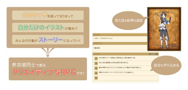 クリエイティブRPGイメージ