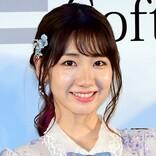柏木由紀、夜桜と幻想的コラボ ファンほれぼれ「きれい」「かわいい」