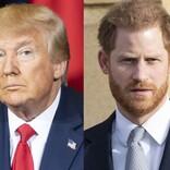 """米トランプ大統領、LA移住報道の英ヘンリー王子夫妻の警備費を""""払わない""""宣言"""