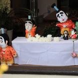 志村さん東村山実家に献花台 バカ殿人形などゆかりグッズも…