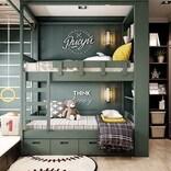 大人も子どもも嬉しい♪2段ベッド&ロフトのあるお洒落な子供部屋インテリア