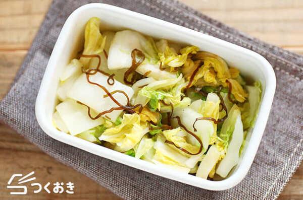 父の日は和食のレシピで!白菜の即席漬け