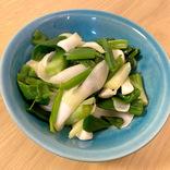 【最強レシピ】たった5分で完成!「葉たまねぎのおひたし」が驚くほど美味