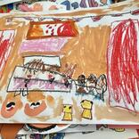 子供の作品にピッタリの収納グッズを紹介。見返しもしやすい
