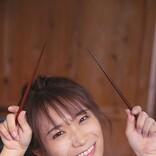 秋元真夏(乃木坂46)、人生初めてのうどん打ちに挑戦