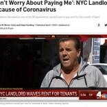 米NYの大家、アパート入居者約200人超に「4月分の家賃は払わなくていい。家族の心配をして」と宣言