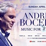 アンドレア・ボチェッリ、ソロ・パフォーマンスを伊ミラノのドゥオーモ大聖堂より世界同時生配信