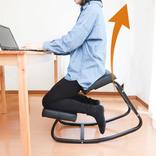 背筋が伸びてゆらゆらする椅子は、テレワーク民の腰を救えるか?