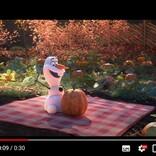 社会的距離を保ちながら制作したオラフが主役のショートムービーシリーズ『At Home With Olaf(家でもオラフと一緒)』