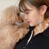 夏焼雅、襟足スッキリショートカット&愛犬との2SHOTに「可愛すぎる」の声