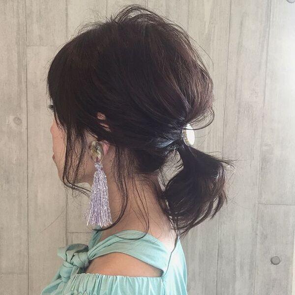 50代に似合うヘアアレンジ9