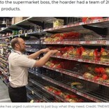150パックのトイレットペーパーを購入した客が返品に 断ったスーパー経営者が怒りの投稿(豪)